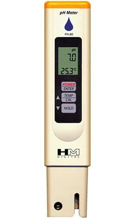 מד חומציות דיגיטלי HM PH-80